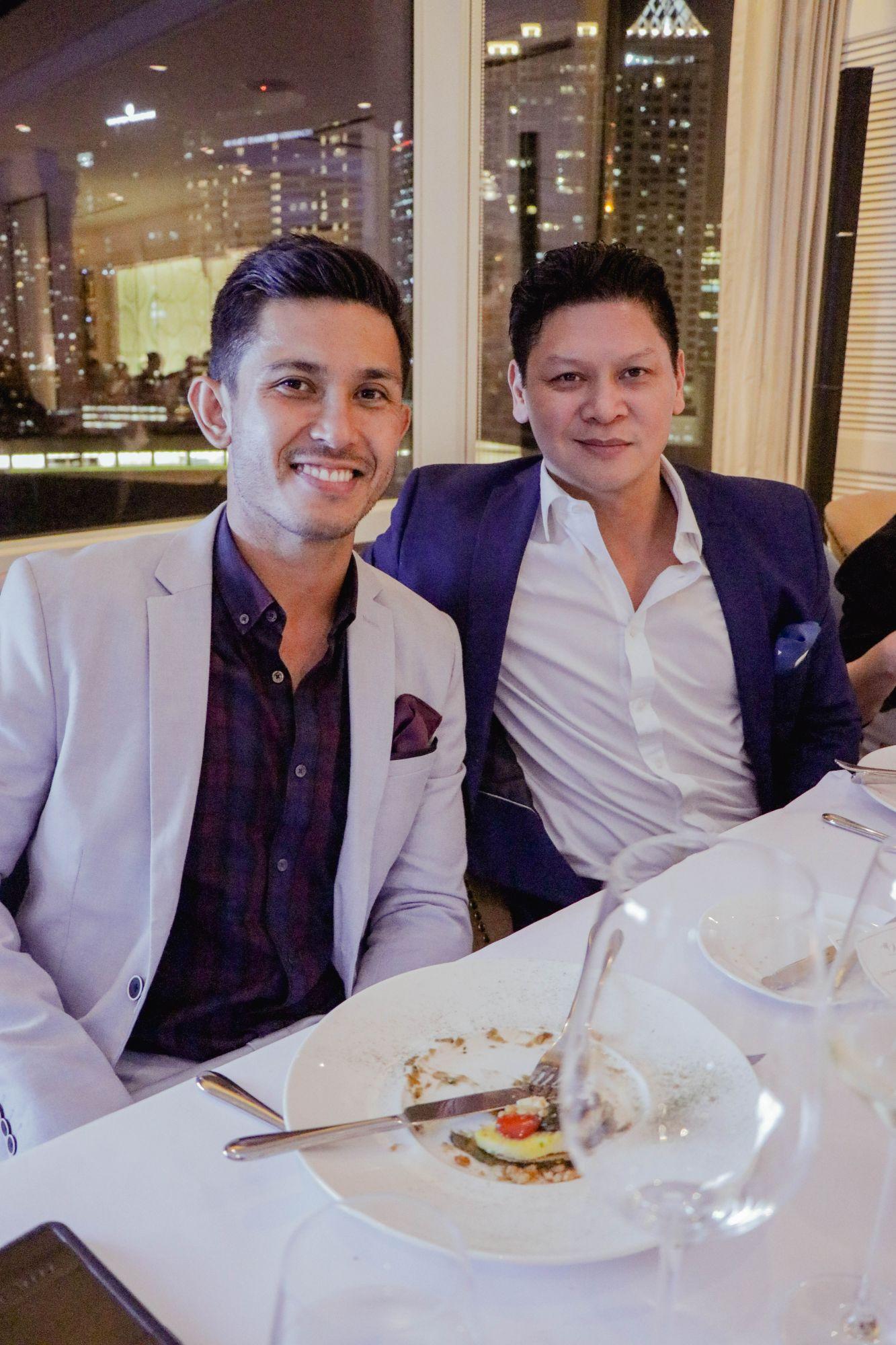 Rafael Fortis and Anton San Diego