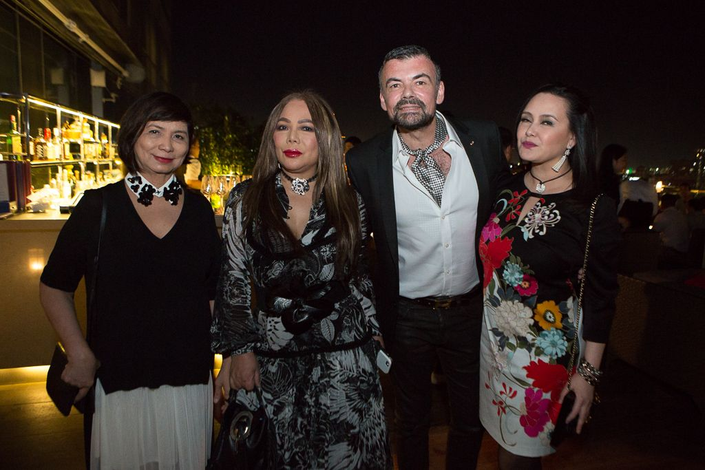 Millet Mananquil, Tina Cuevas, Xavier Btesh, Cris Albert