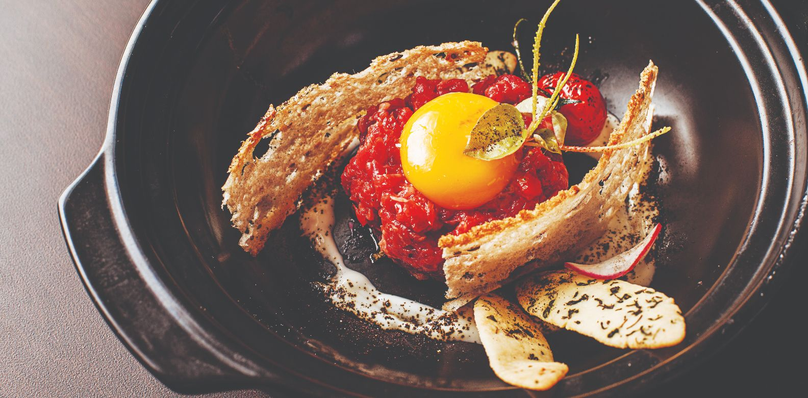 Brasserie steak tartare