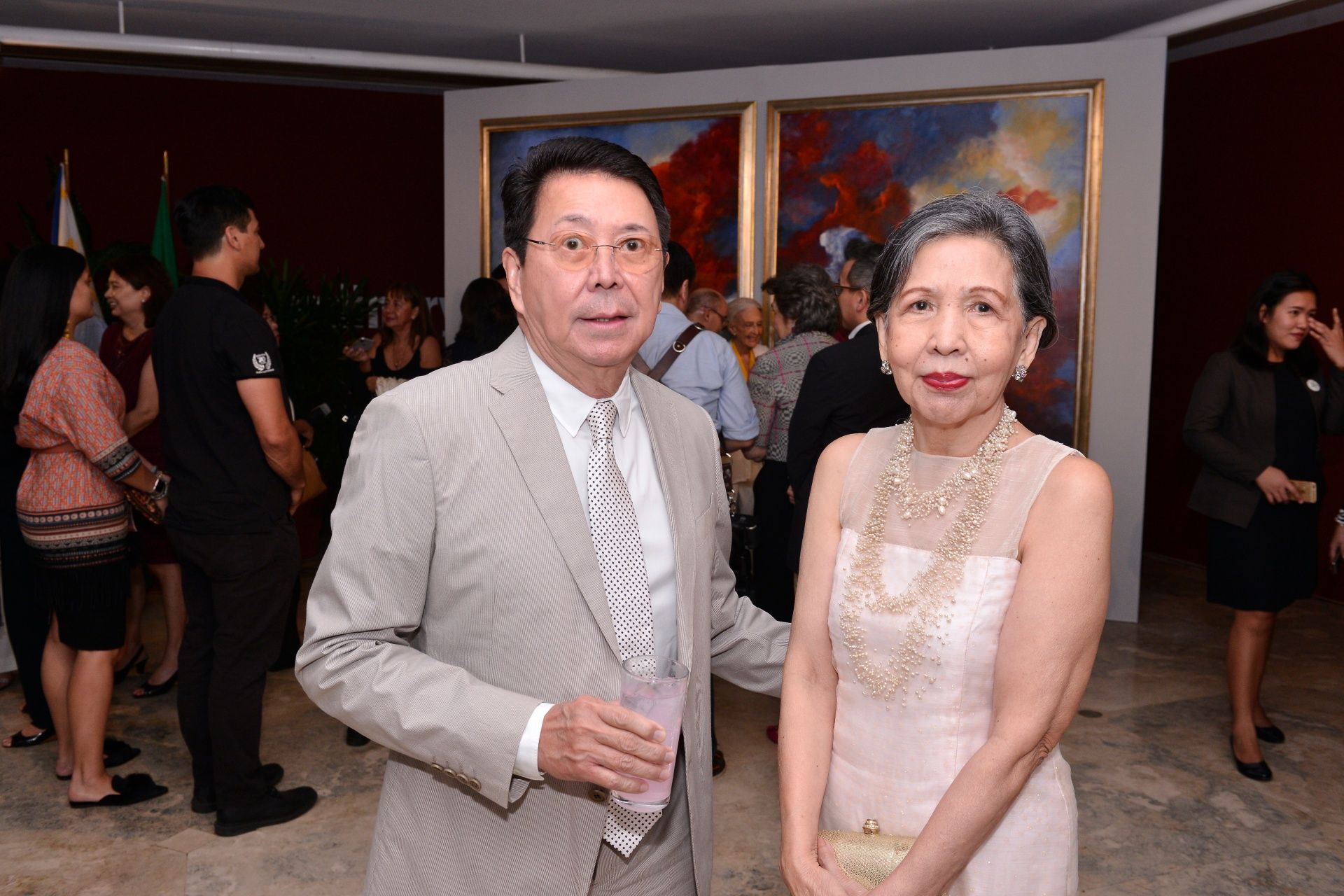 Chito Antonio and Marilu Antonio Veloso