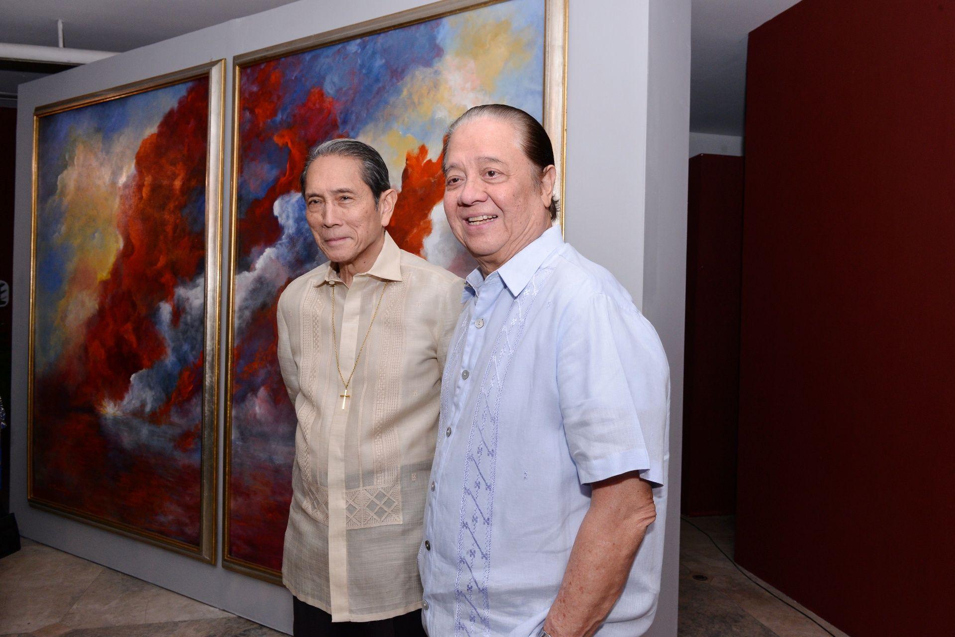 Jorge Araneta and Ambassador Lani Bernardo