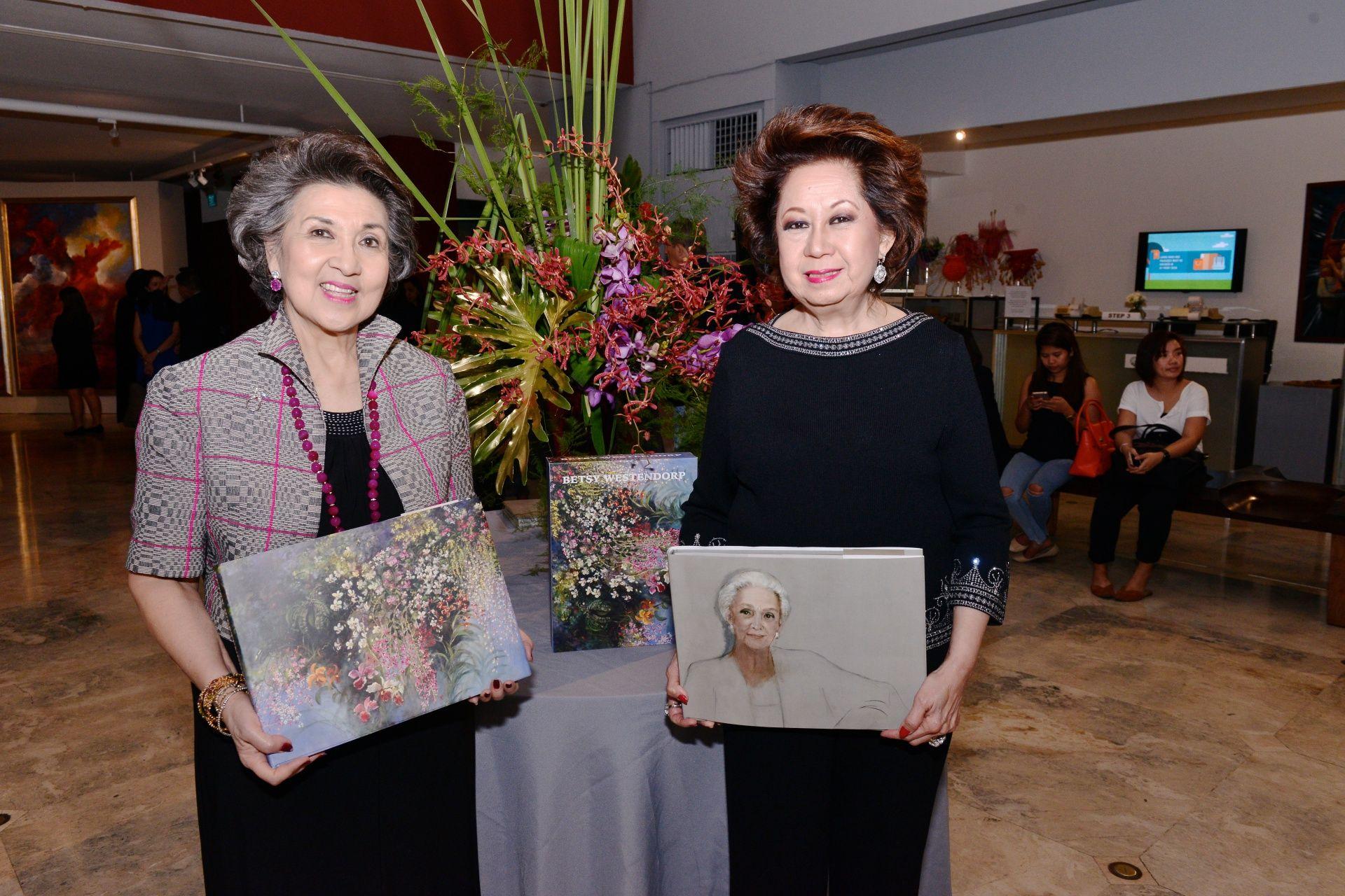 Maritess Pineda and Olga Martel