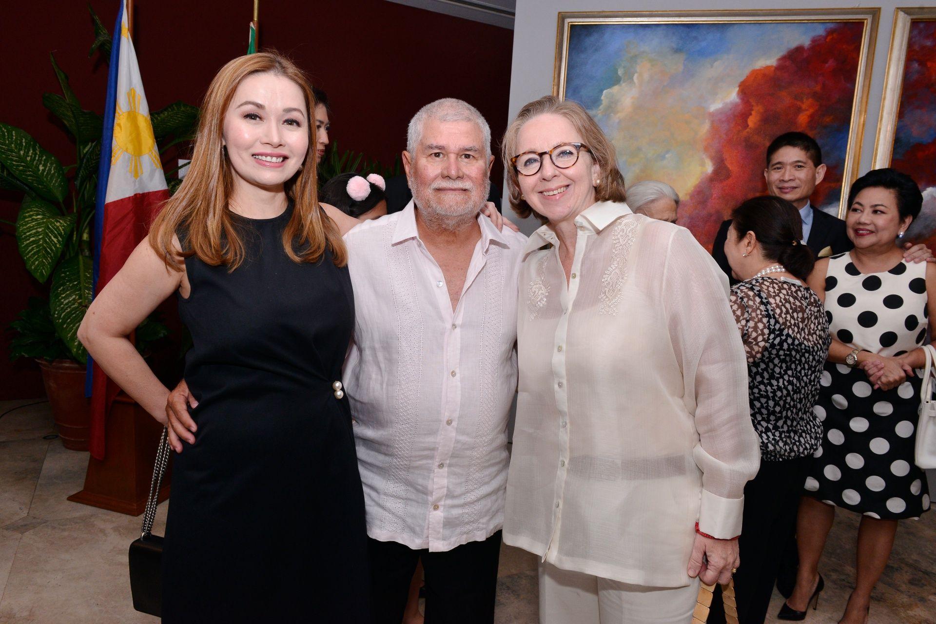 Monique Toda, Bengy Toda, Denise Weldon Miñana