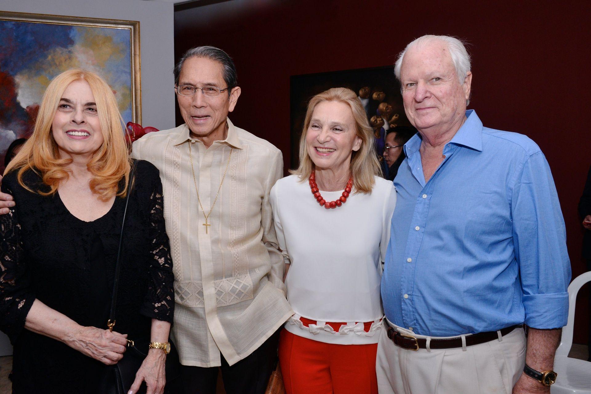 Stella Marquez Araneta, Jorge Araneta, Esperanza and Alejandro Padilla