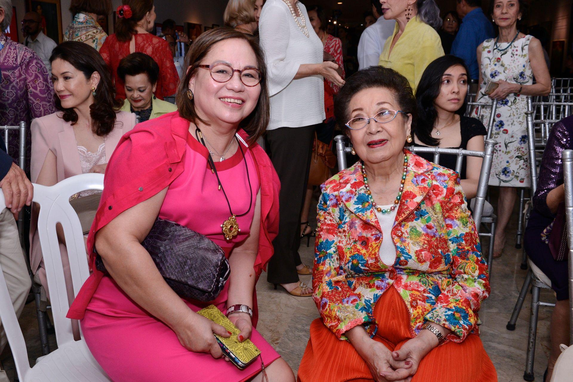 Thelma San Juan and Ming Ramos