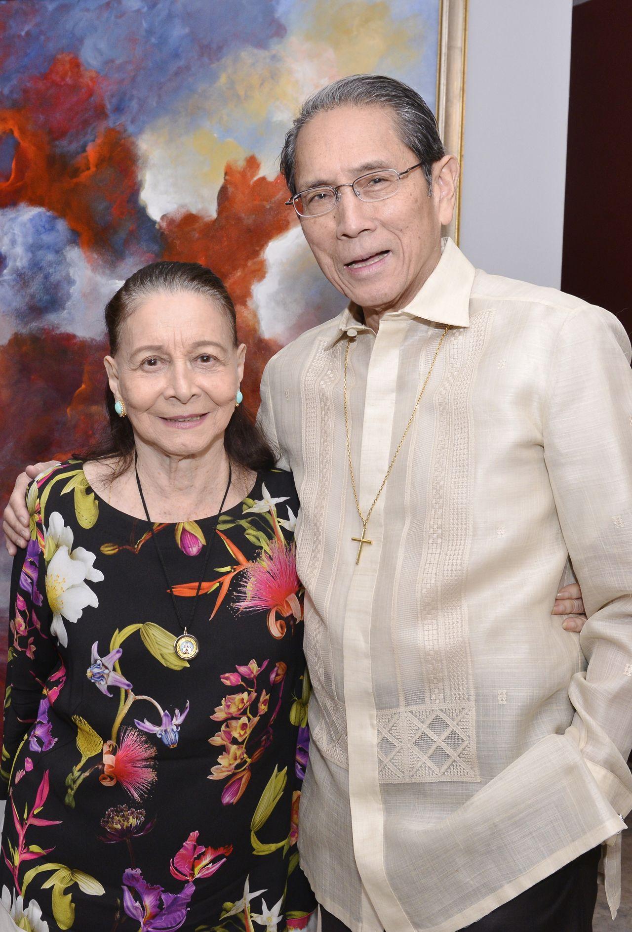 Amb. Mercy Tuason and Jorge Araneta