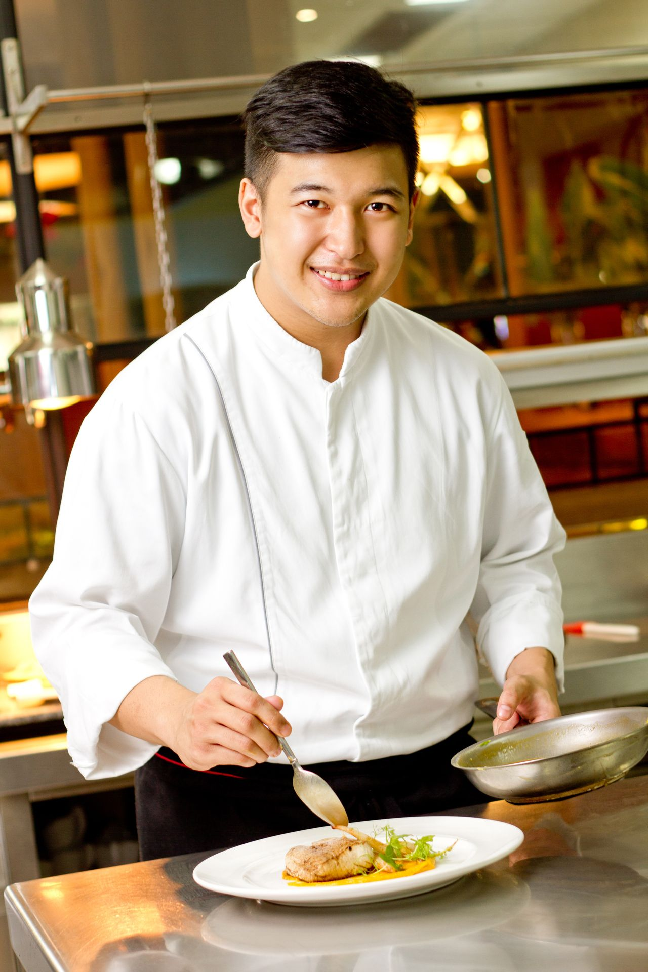 Meet The Chef: Justin Baradas