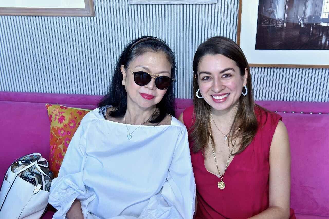 Marilene Jacinto and Nicole Sala