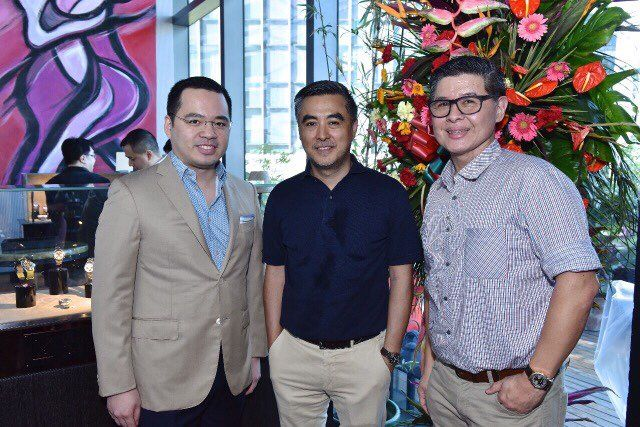 Paolo Martel, Jay Ong and Edwin Lim