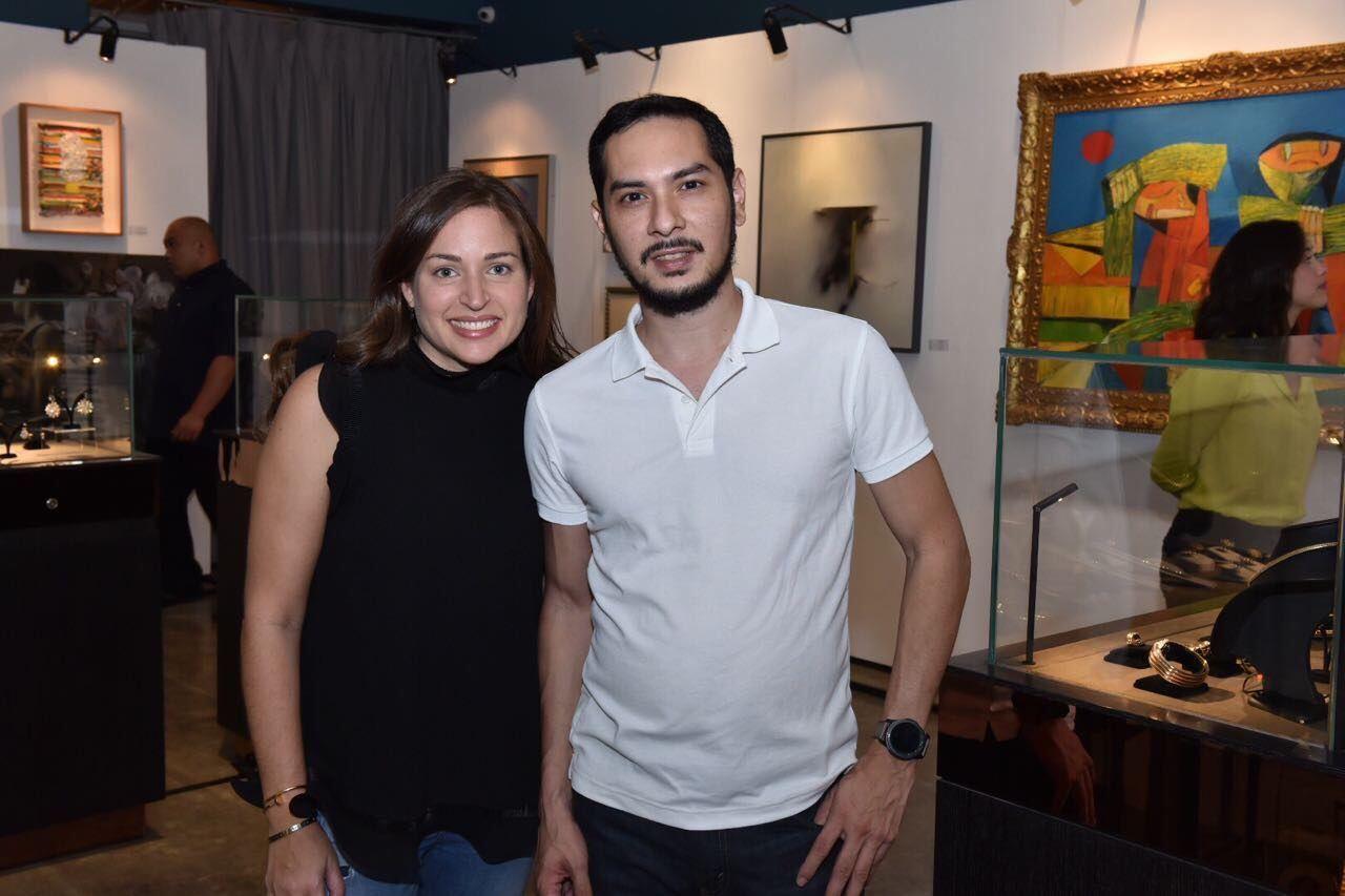 Bianca Zobel and Franco Villanueva