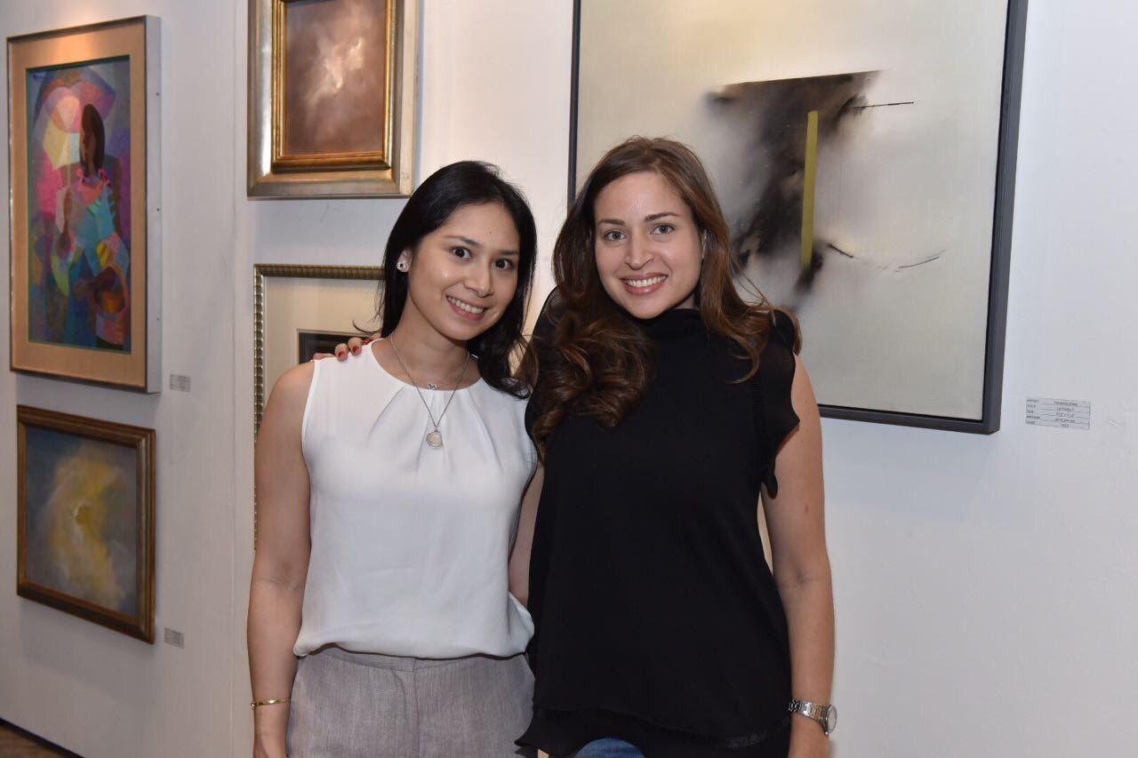 Cristina Martel and Bianca Zobel