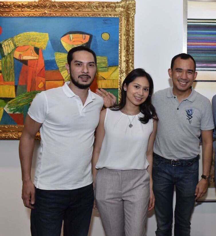 Franco Villanueva, Cristina Martel and Jaime Ponce de Leon