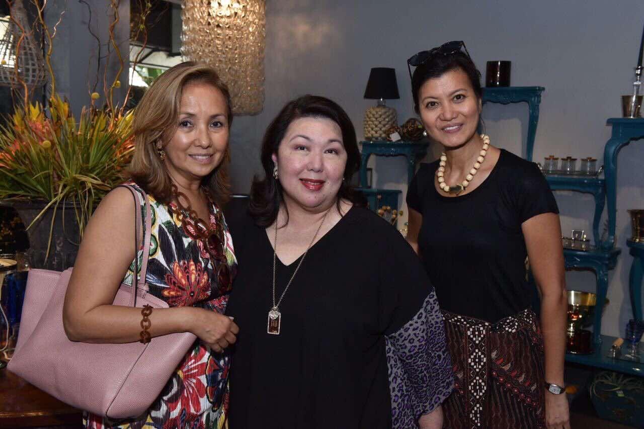 Nenet Schmid, Irene Francisco and Gracita Sieber