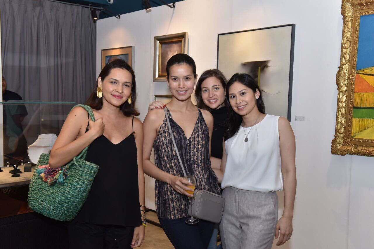 Rocio Aboitiz, Jessica Kienle-Maxwell, Bianca Zobel and Cristina Martel
