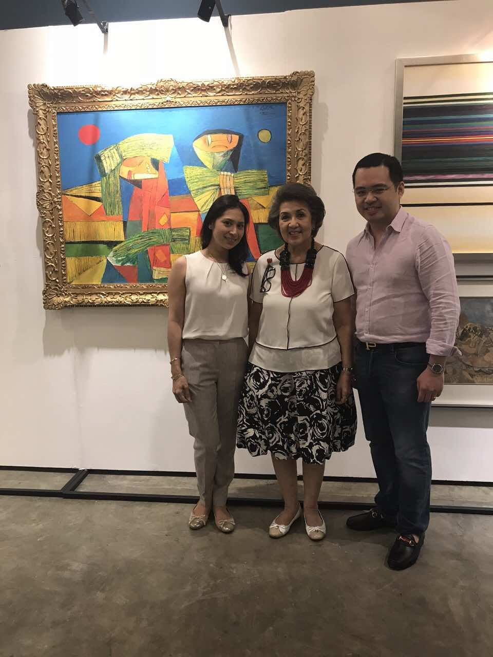 Vintage Grail with Art Collector Maritess Pineda