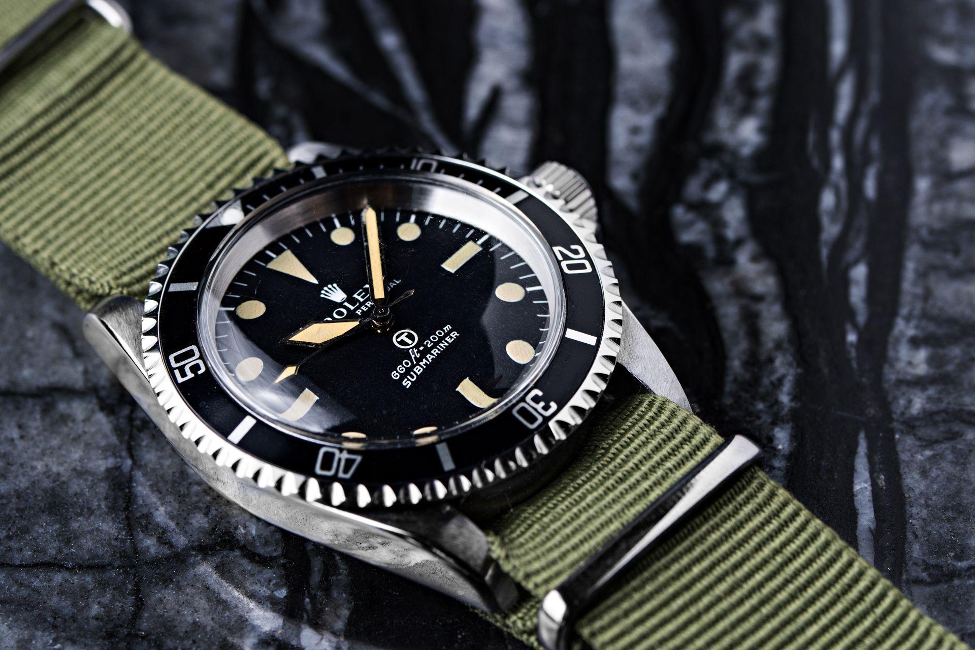 Rolex Military Submariner Ref 5513