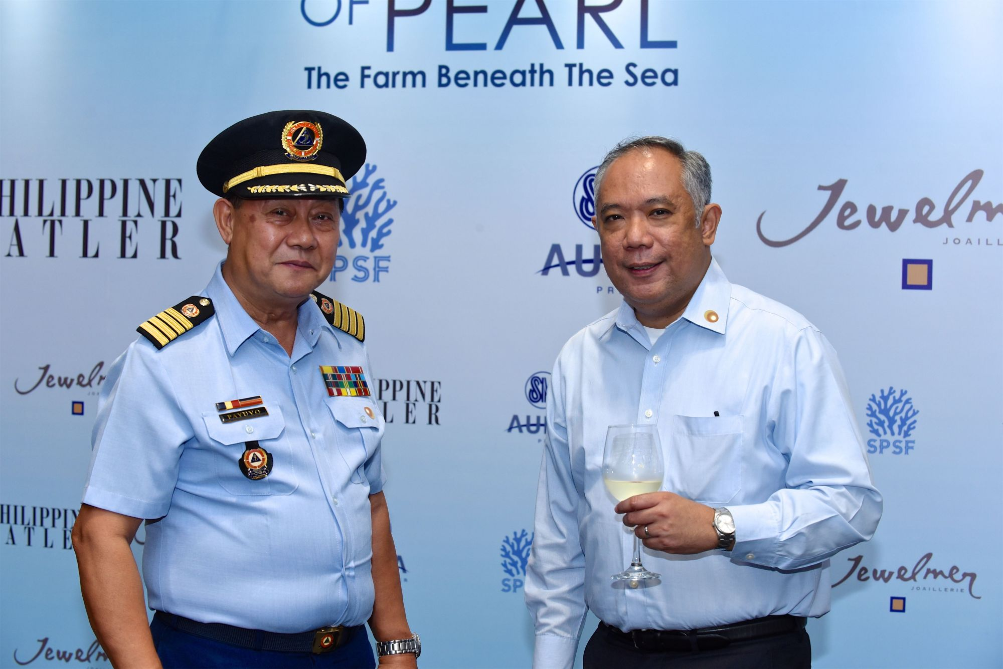 Capt. Payuyo and Vicente De Leon