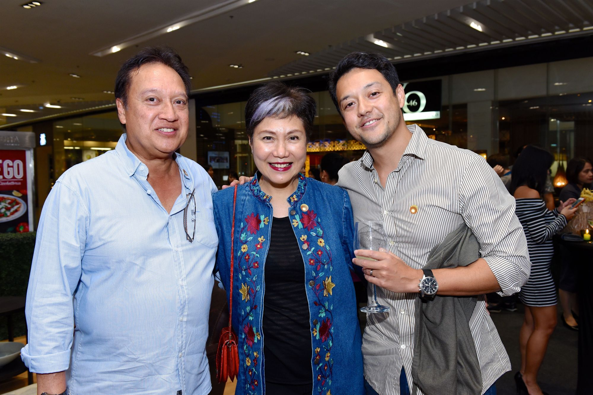 Butch and Ginny De Guzman with Martin De Guzman