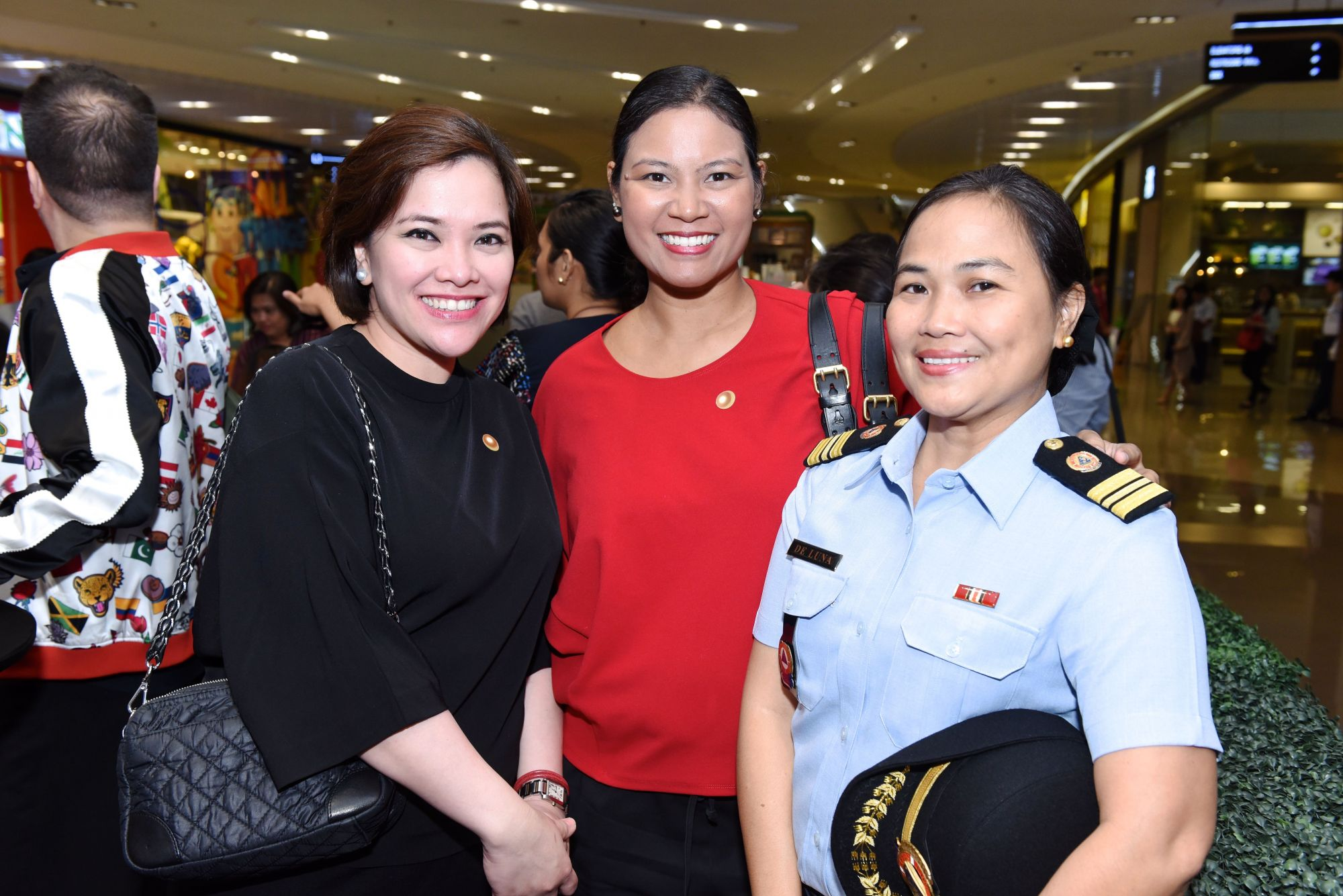 Erika Tatad, Angela Poblador-Antonio, Melinda De Luna, VP for Farm Support Group, Jewelmer