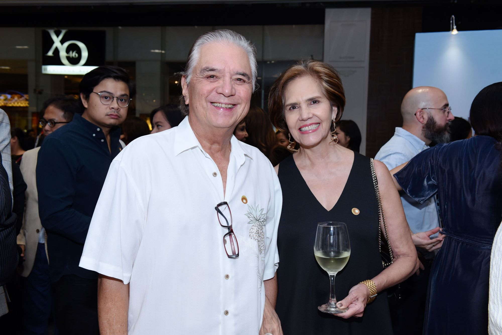 Linggoy Araneta with his wife Connie
