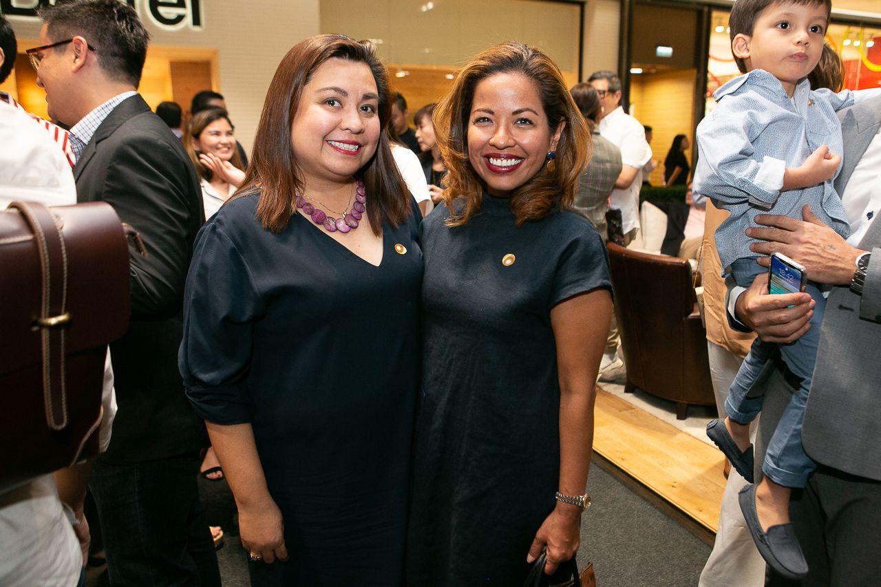 Lisa Hernandez-Morales and Nicole Ramirez De Arellano-Sheker