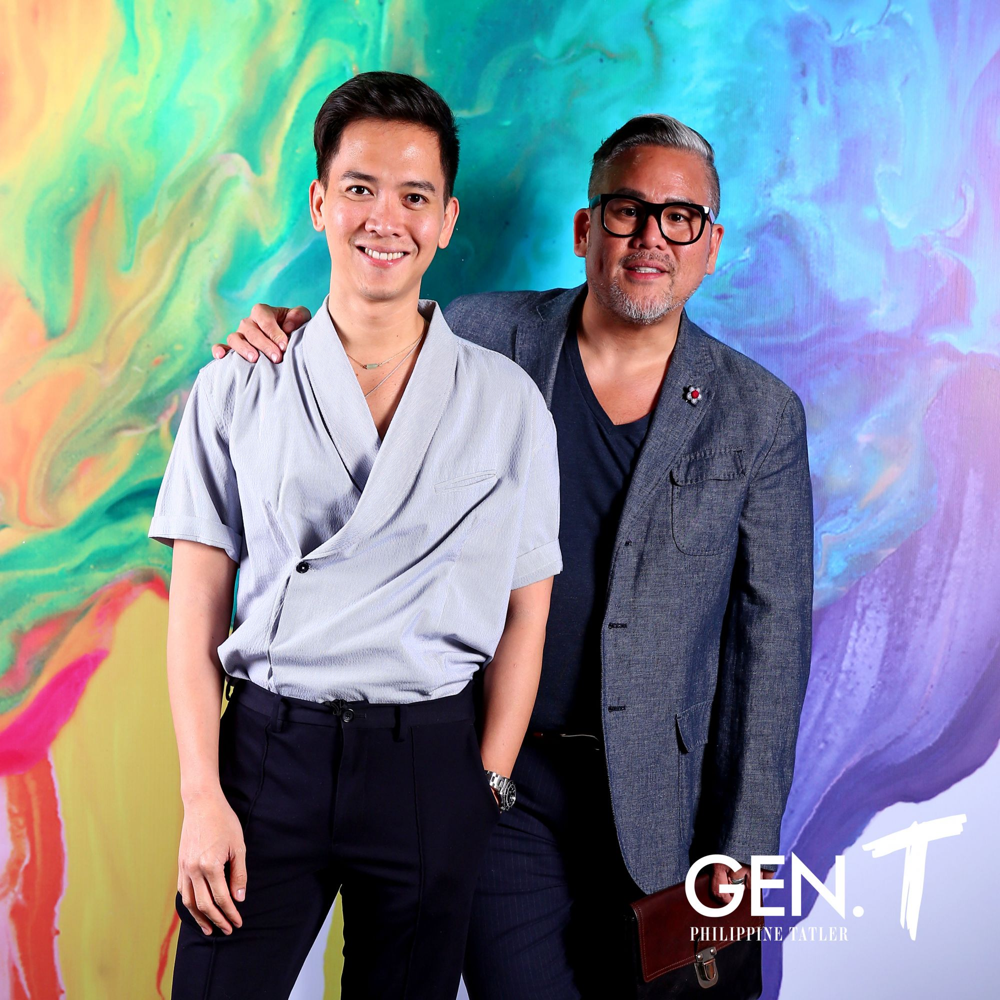 Nix Alanon and Rajo Laurel