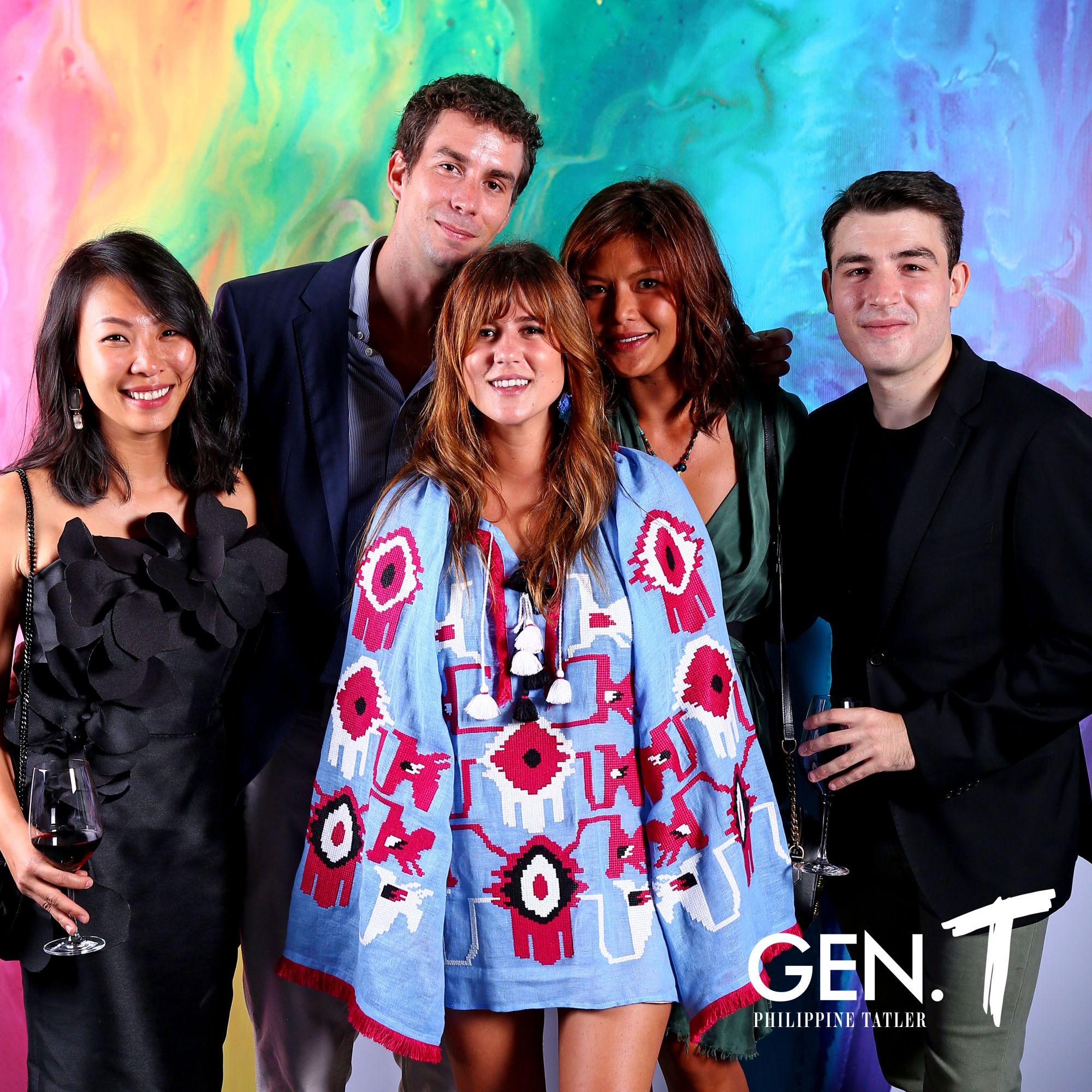 Andie Ngan, Mike Kerveillant, Paloma Urquijo Zobel, Ina Estacio, and Carlos Otermin