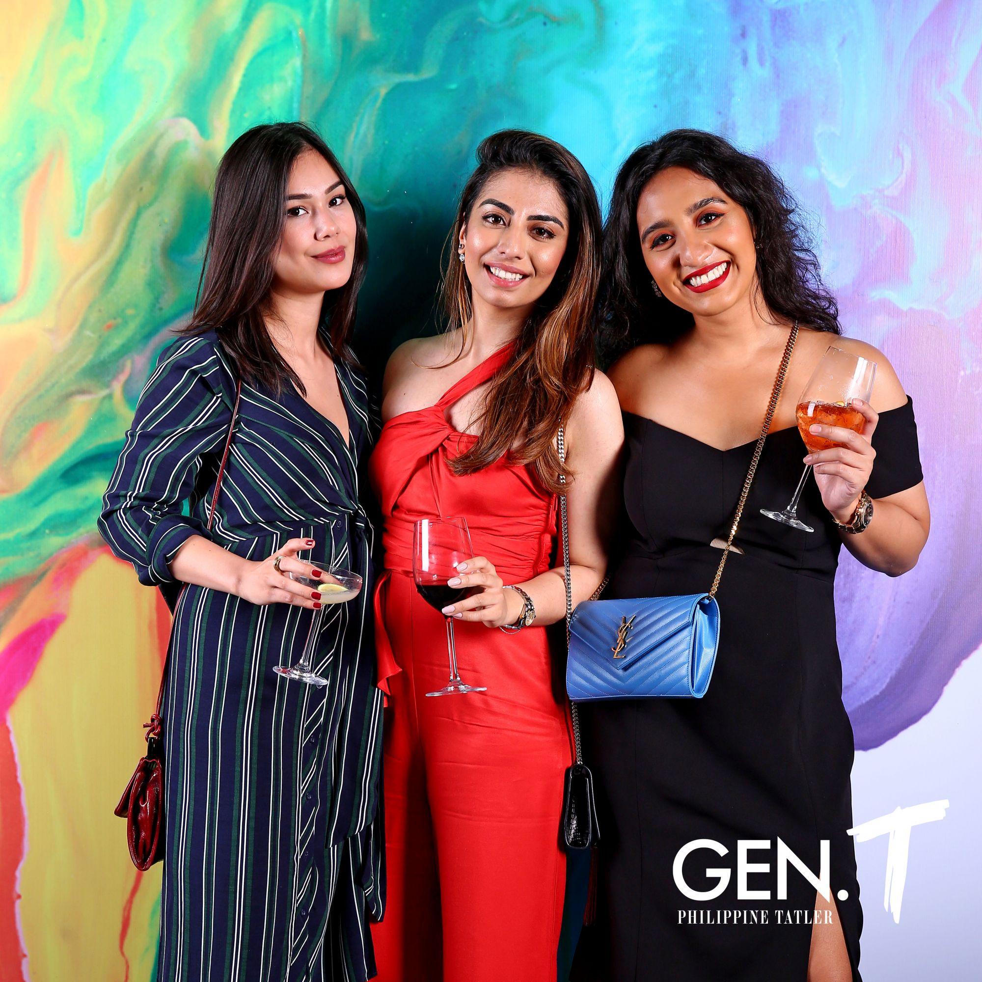 Camilla Guidicelli, Neelam Gopwani and Roma Hemlani
