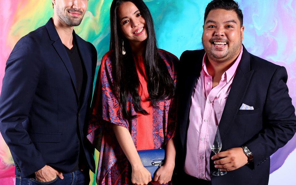 Sandor Simon, Ingrid Chua and Ram Bucoy