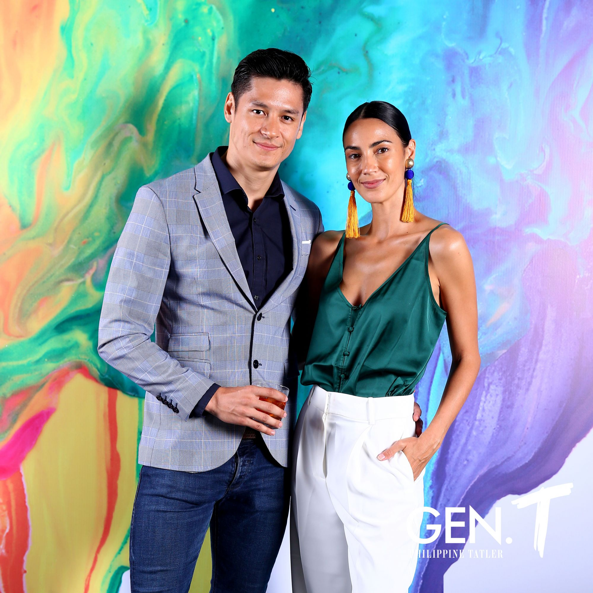 Hideo Muraoka and Fatima Rabago