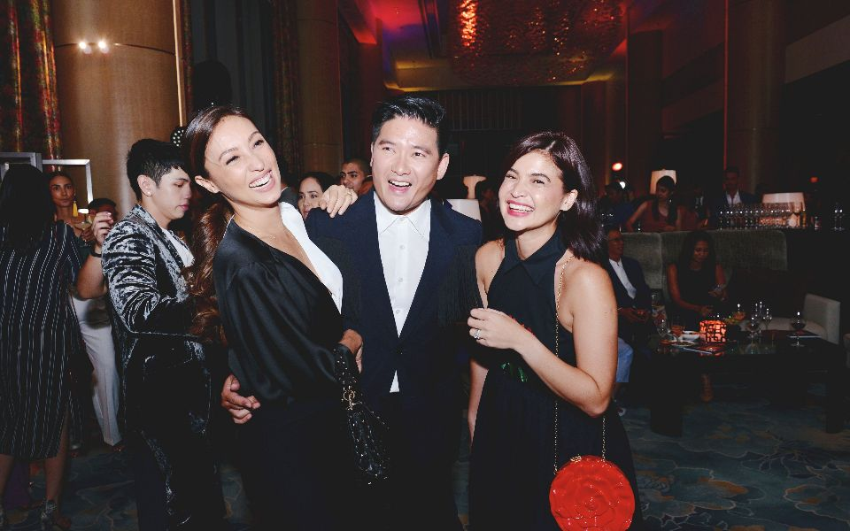 Solenn Heusaff, Tim Yap, and Anne Curtis