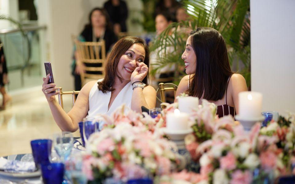 Arlene and Cristina Cu