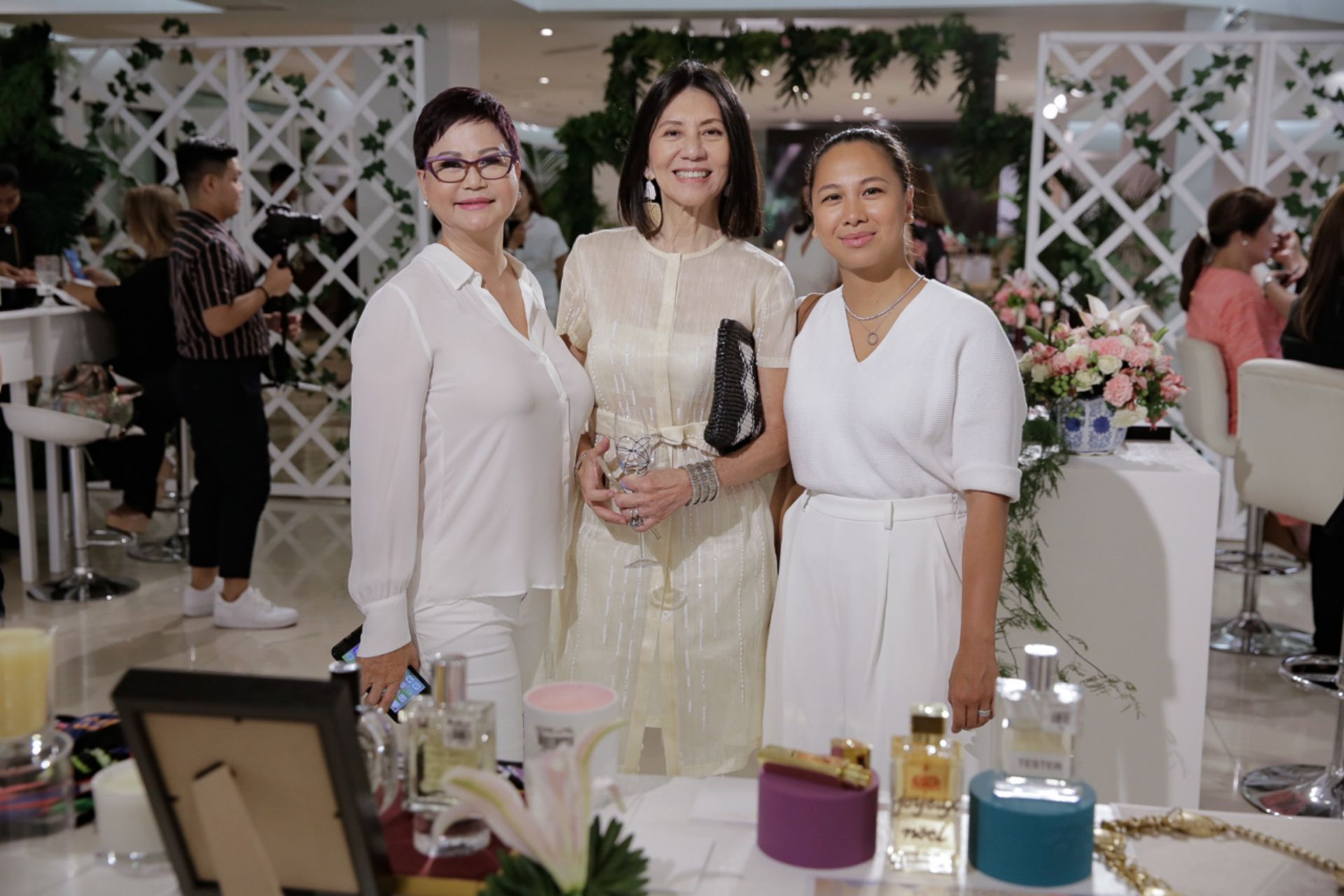 Princess Disini, Lulu Tan Gan and Maureen Disini