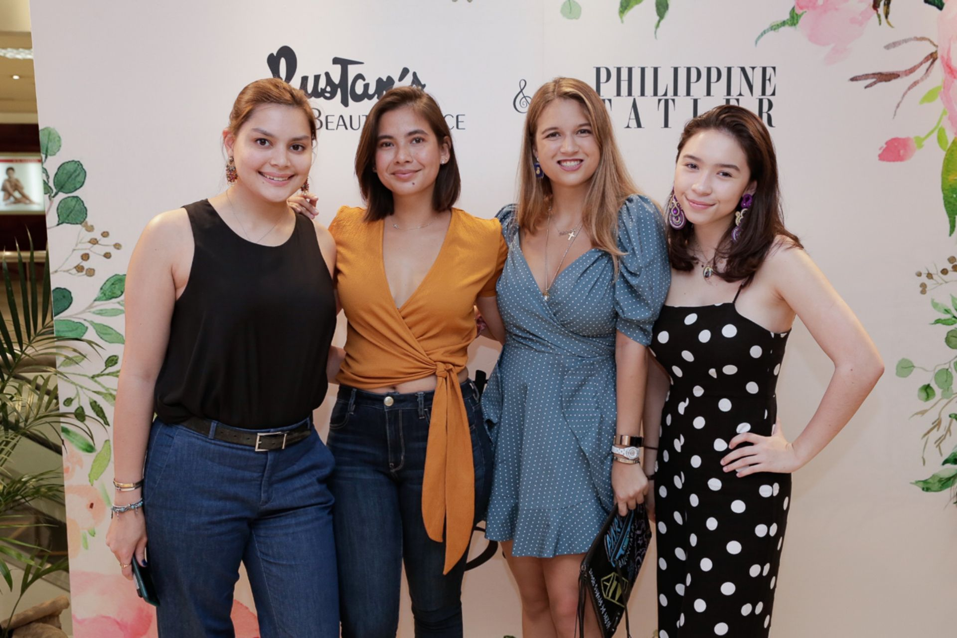 Ines Tambunting, Monica Dizon, Natalia Pena, Rocio Tambunting