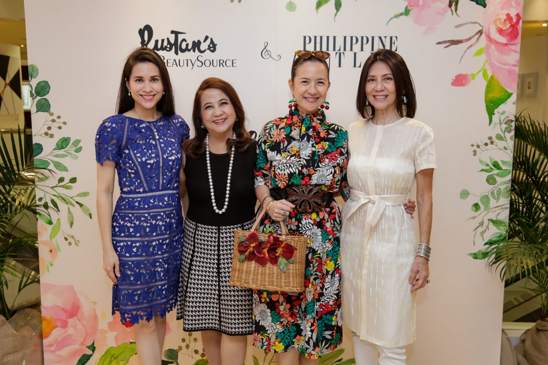 Audrey Zubiri, Dette Tan, Mia Borromeo and Lulu Tan Gan