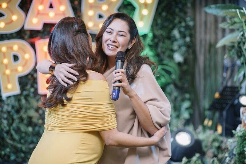 Warm encouraging words from bestie and mother-of-two, Ruffa Gutierrez