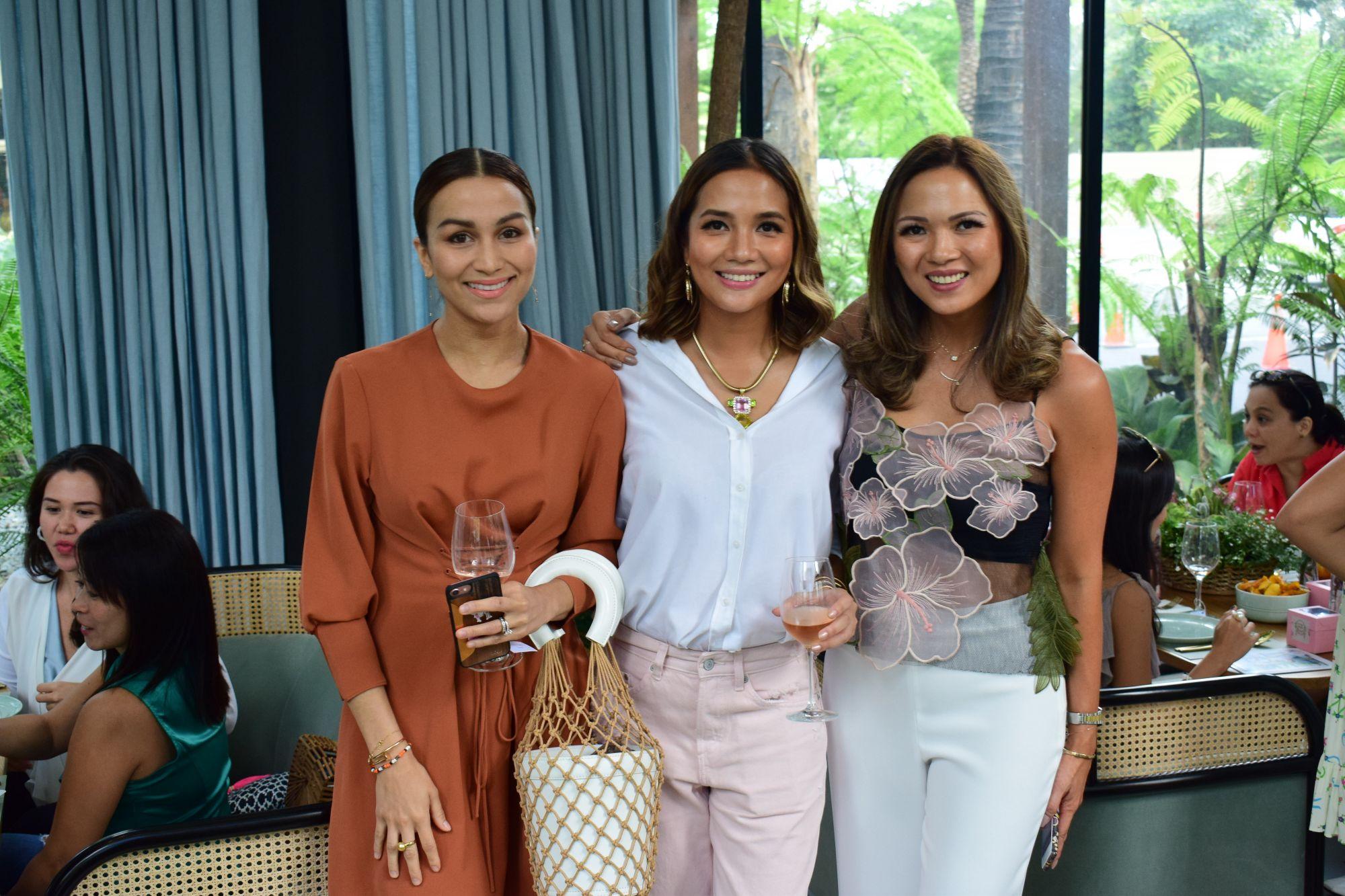 Steph Kienle-Gonzalez, Celine Lopez and Monette Bata Garcia