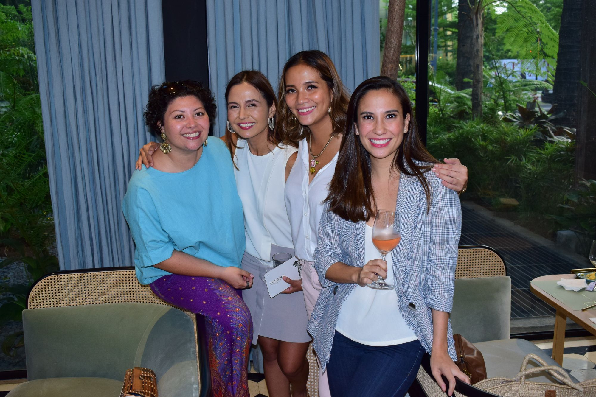 Chesa Zimmer-Santos, Cat Juan-Ledesma, Celine Lopez and Stephanie Zubiri