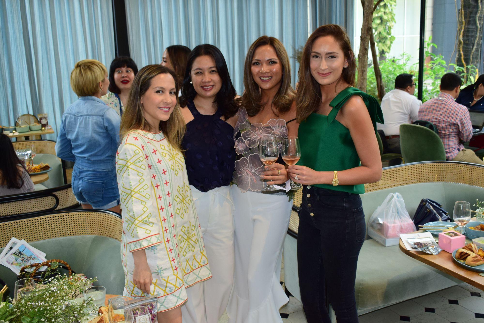 Jackie Antonio, Kim Cuerva, Monette Bata-Garcia and Krystle Bacani
