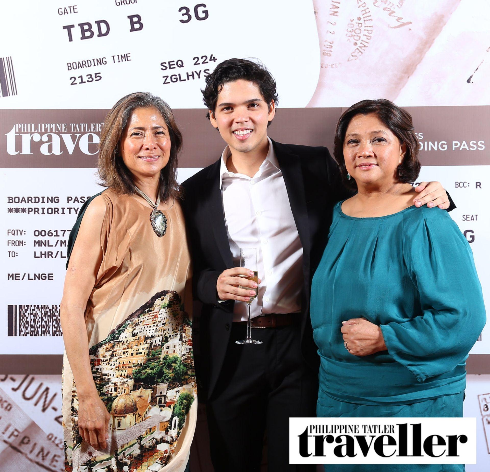 Ana Delgado, Jaime and Maricris Brias