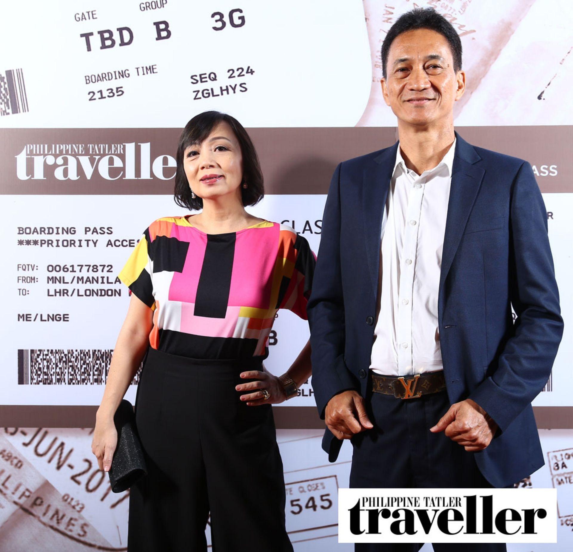 Shiela Tiongco and Dr. Napoleon Tiongco, Jr.