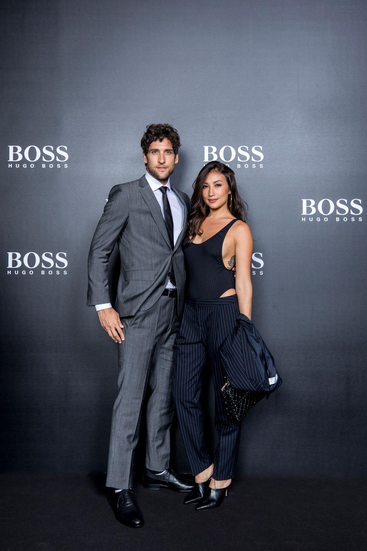 Philippine representatives Nico Bolzico and Solenn Heussaff in BOSS
