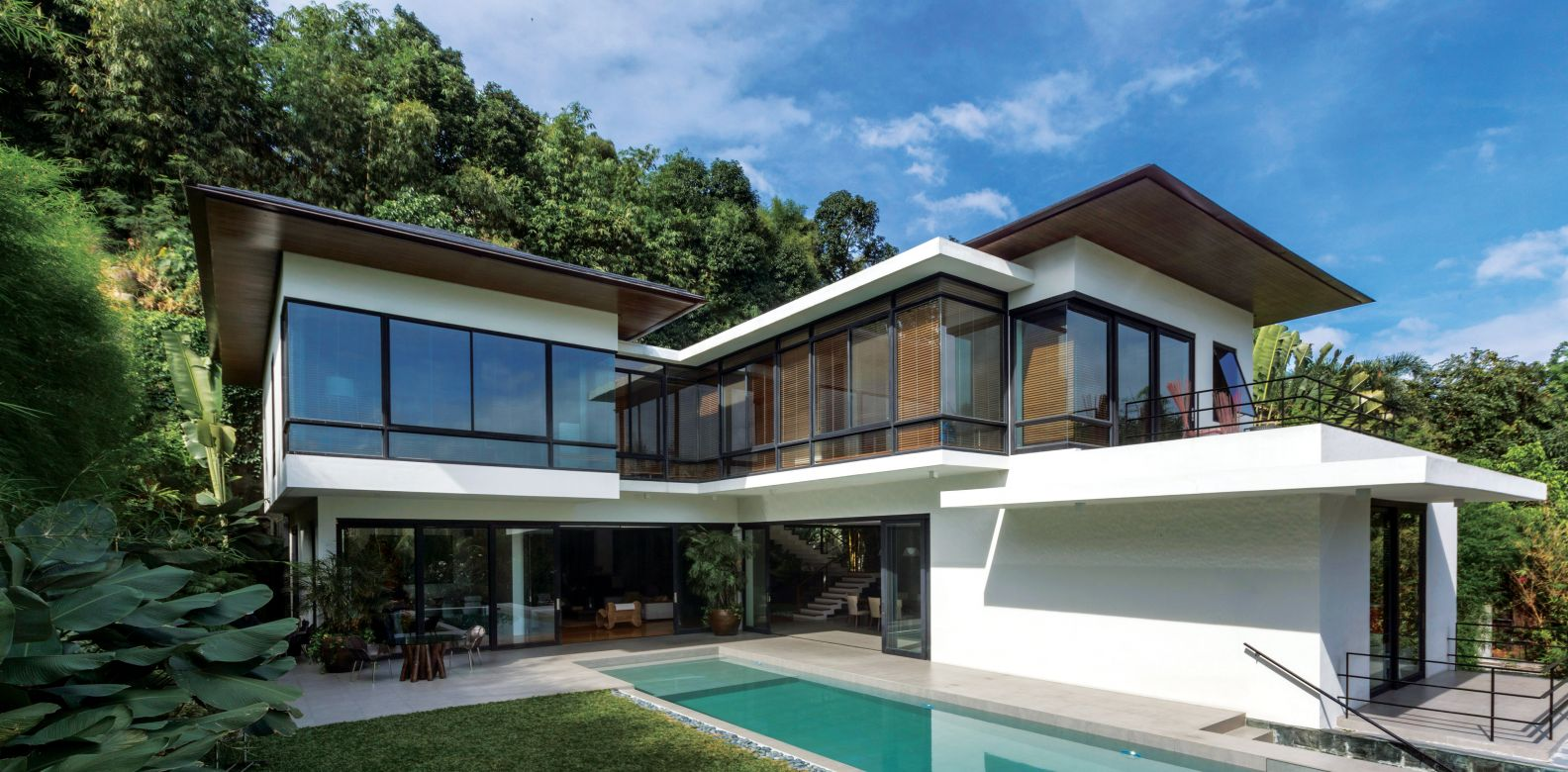 An Open Sanctuary: A Modern Filipino Home Design by BUDJI+ ...