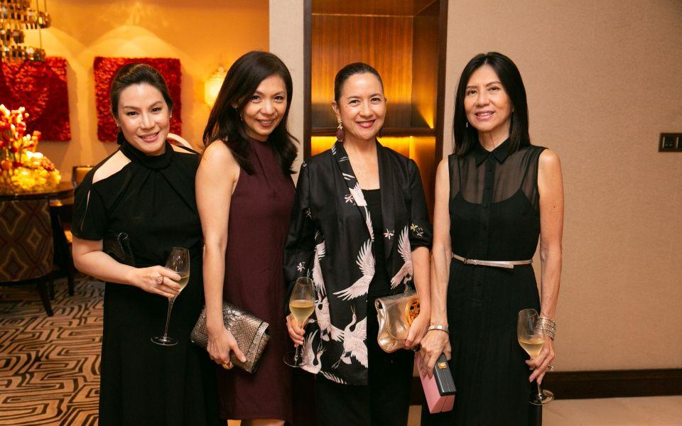 Ana Lorenzano de Ocampo, Kaye Tinga, Mia Borromeo, Lulu Tan Gan