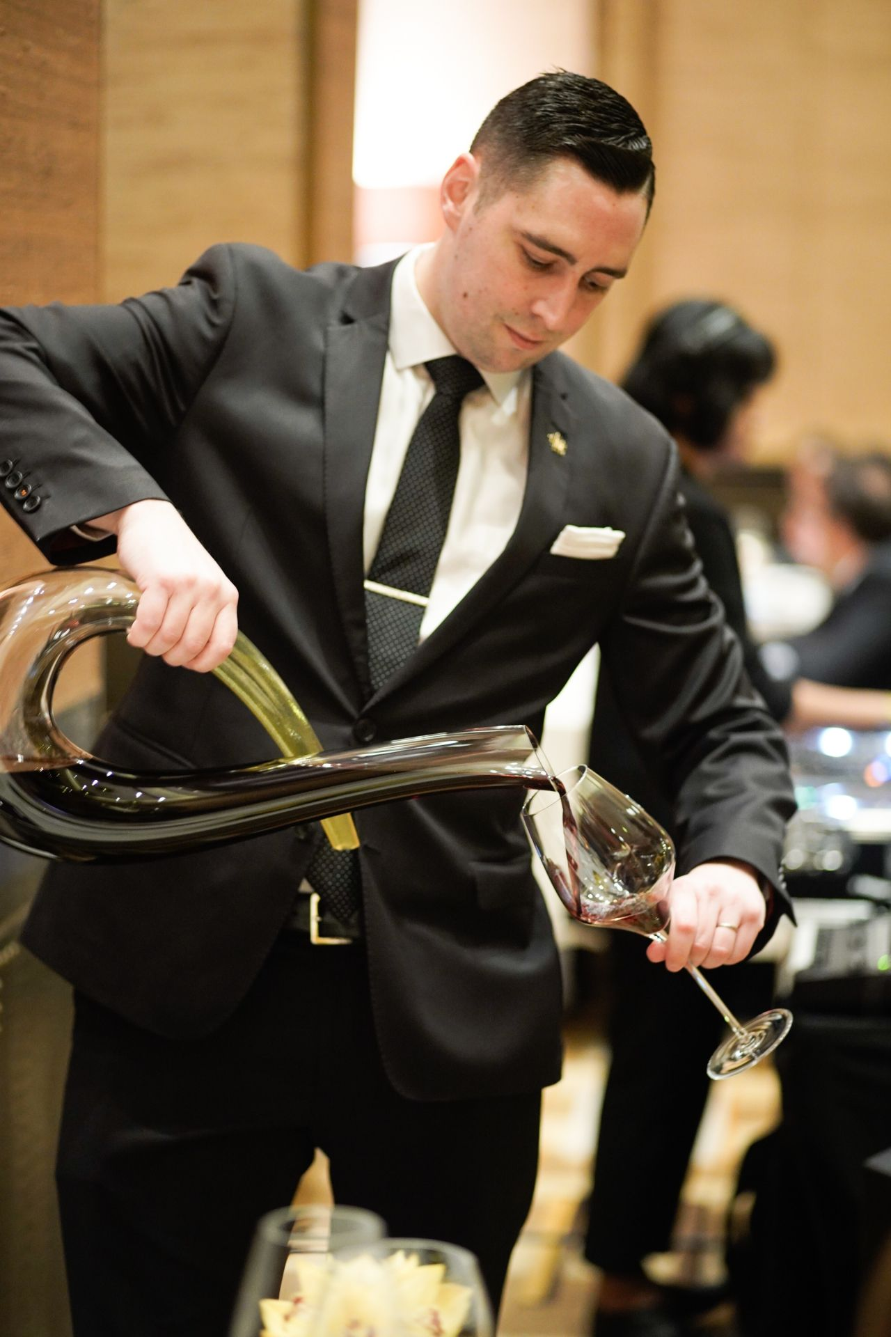 Stephen Moroney, Restaurant Manager - The Tasting Room