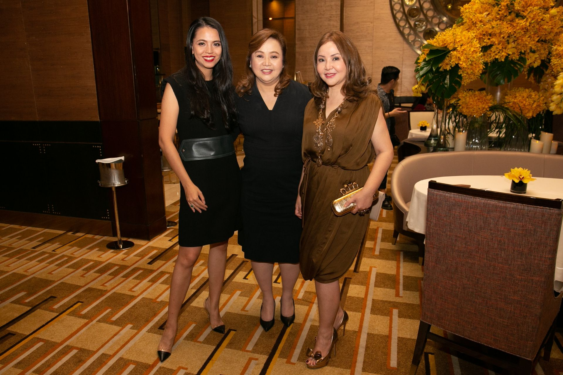Ingrid Chua, Alice Eduardo and Small Laude