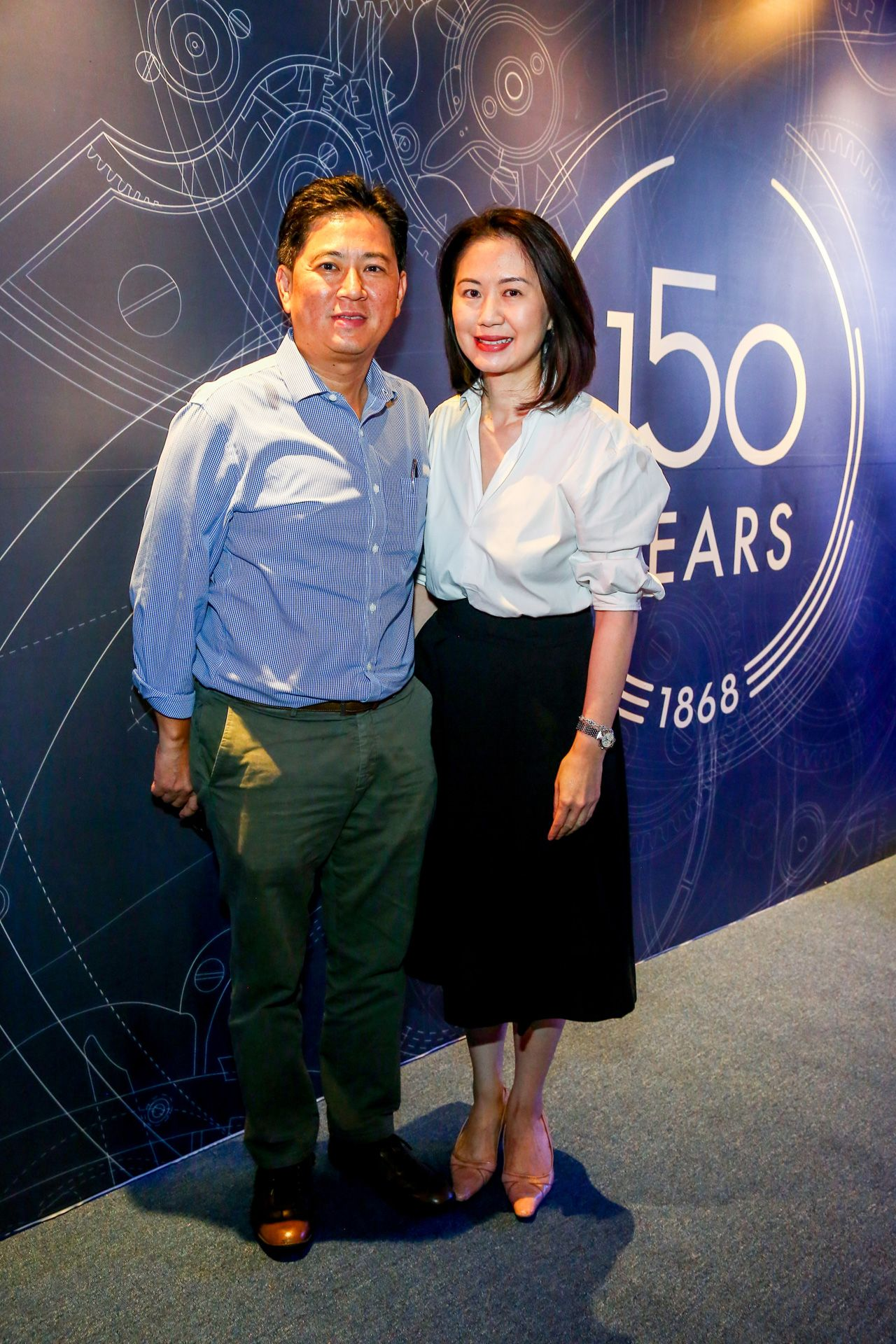 Eaton and Christine Ong