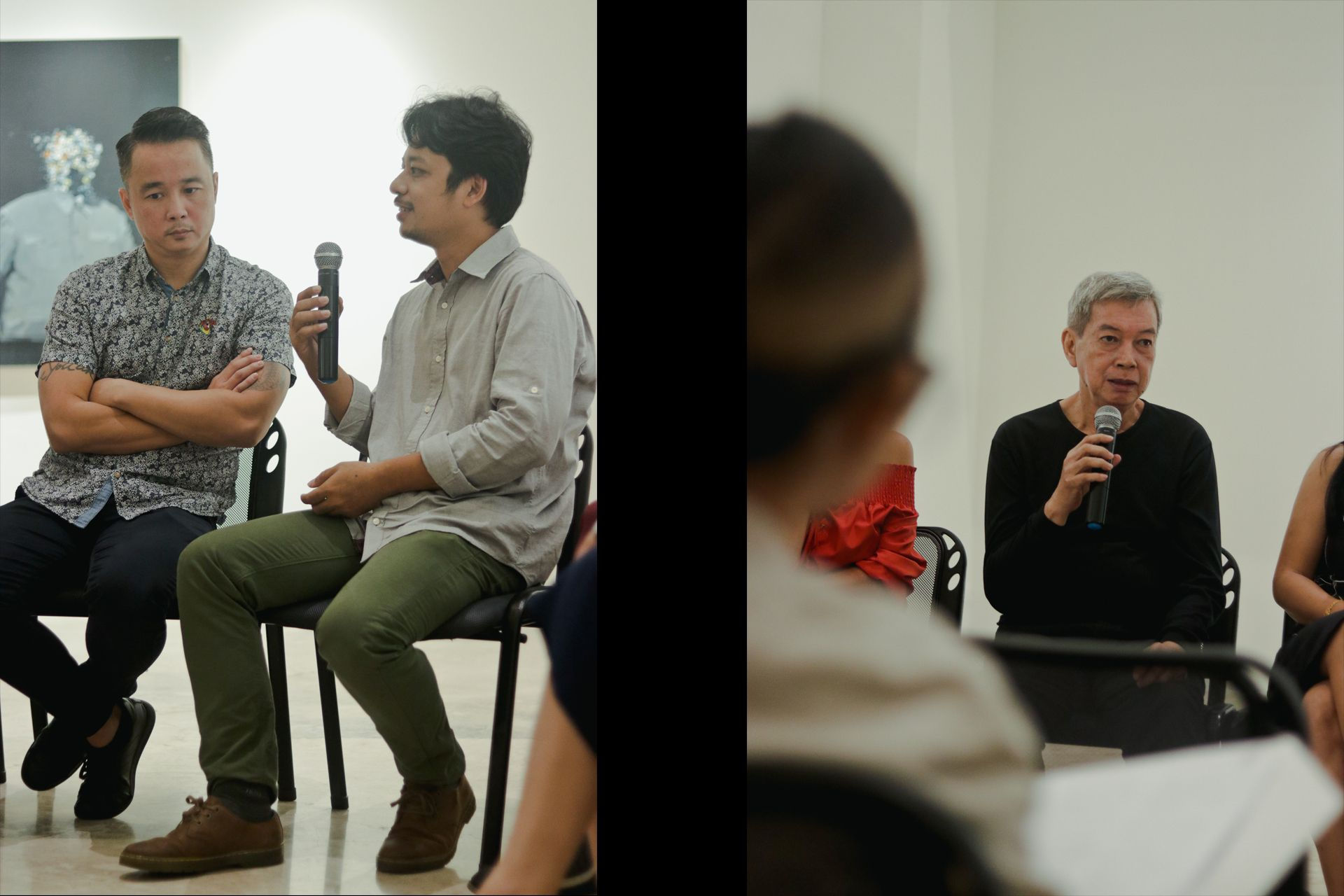 L: Chris Chong Chan Fui (Malaysia) & Min Thein Sung (Myanmar); R: Roberto Feleo (Philippines)