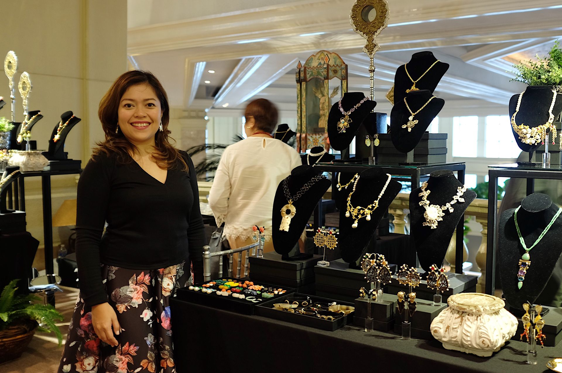 Jewelry designer Tim Tam Ong