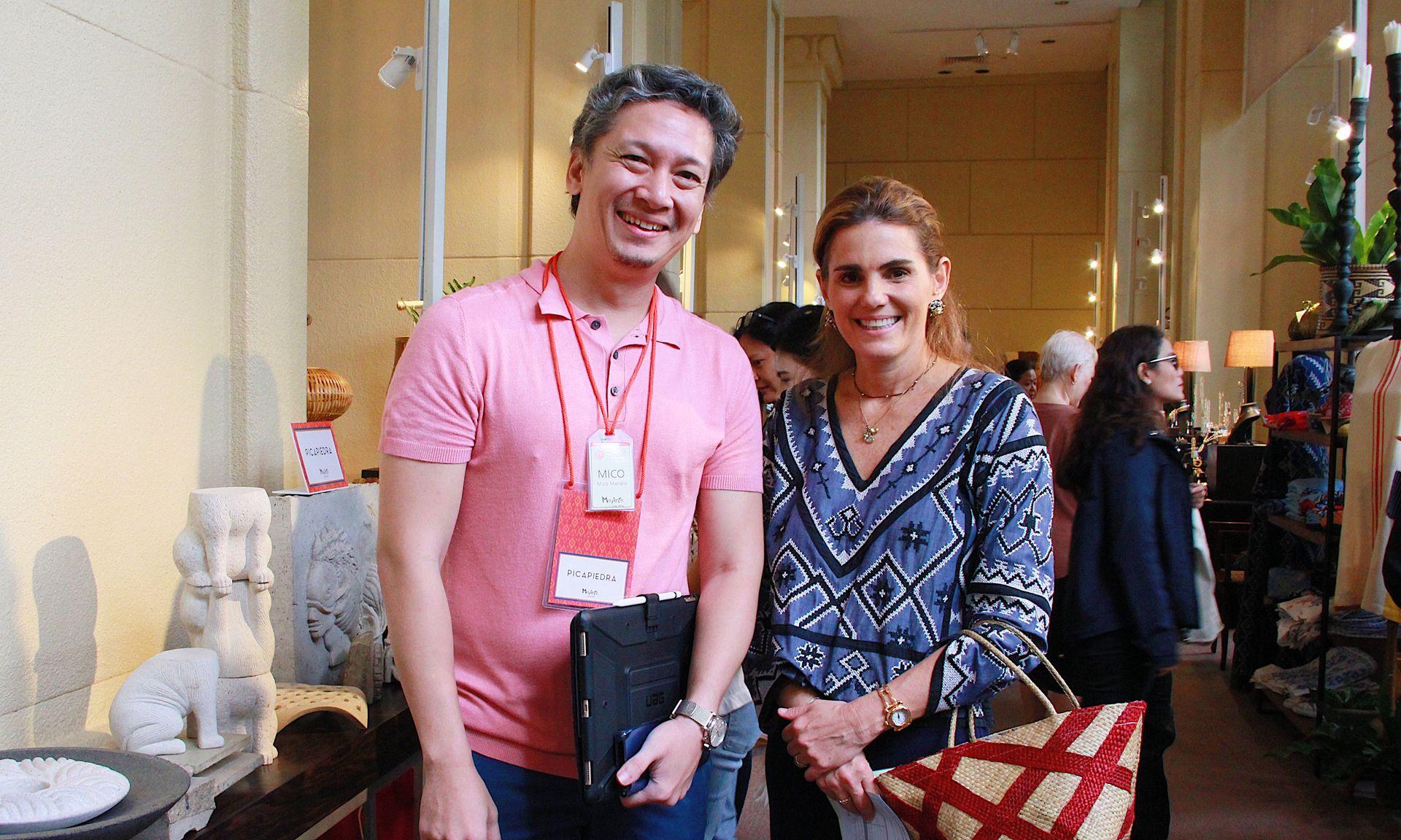 MFPI's Mico Manalo with Lizzie Zobel